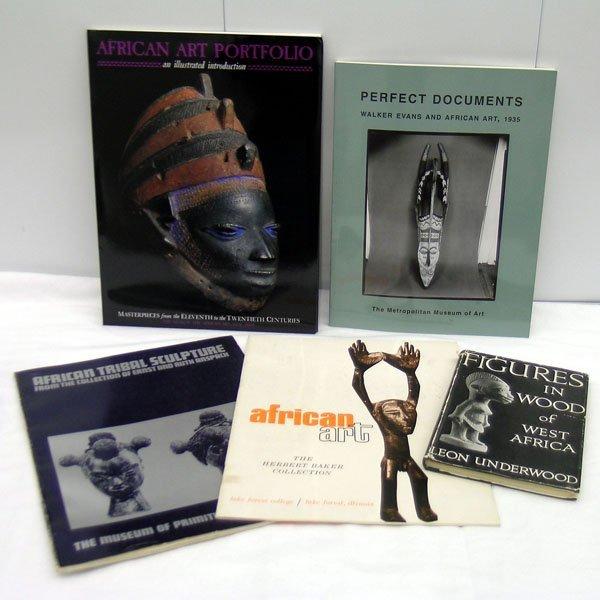 18: Seven African Art Books