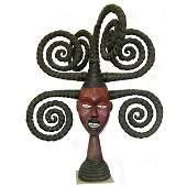 114: Ekoi Janus Crest Mask