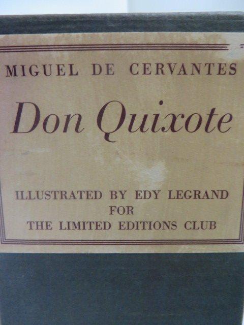 Cervantes. Don Quixote Illus LeGrand 1950
