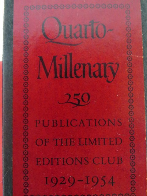 Quarto Millenary. The First 25 Years. 1929-1954