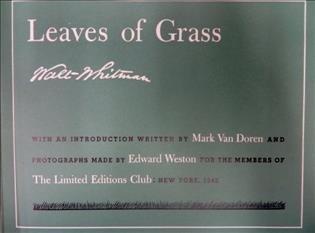 Whitman. Leaves of Grass 2 Vols. 1942