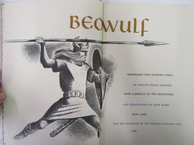 Beowulf. 1952. LEC. Illustrated