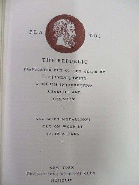 Plato: The Republic. LEC. 1944.