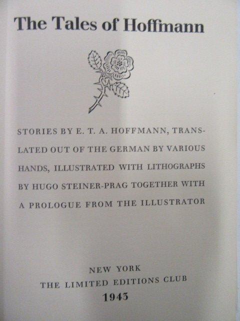 Hoffmann. The Tales of Hoffmann LEC. 1945