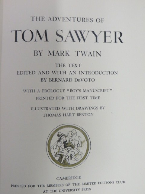 The Adventures of Tom Sawyer. LEC. 1939