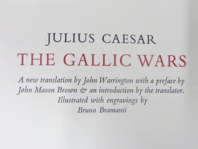 Caesar. Julius The Gallic  Wars