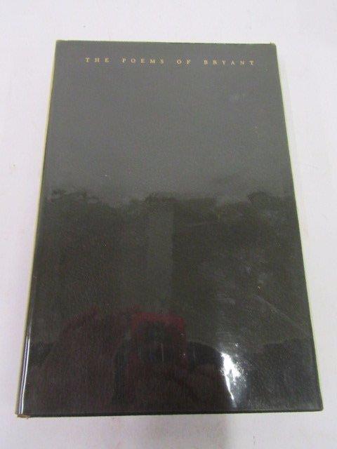 Poems William Cullen Bryant. 1947. LEC. Sgd. - 3