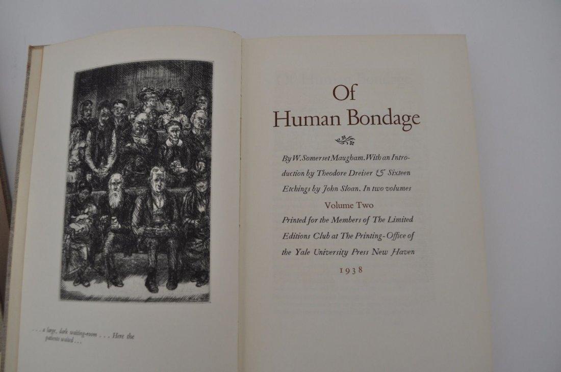 Maughm. Somerset.  Of Human Bondage. 1938 - 2