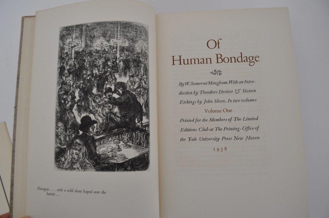 Maughm. Somerset.  Of Human Bondage. 1938 - 3