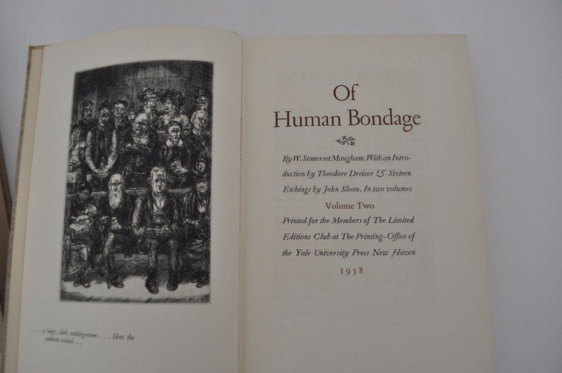 Maughm. Somerset.  Of Human Bondage. 1938 - 4