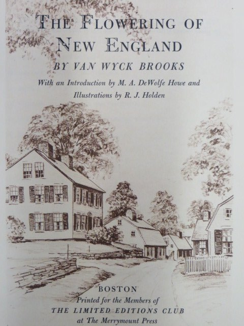 Flowers of New England. 1941