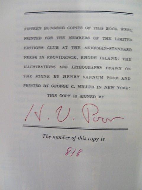 Hawthorne. Scarlett Letter.  1941. Signed - 4