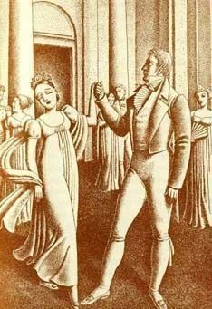Austen.  Pride and Prejudice. 1940 Illus. - 2