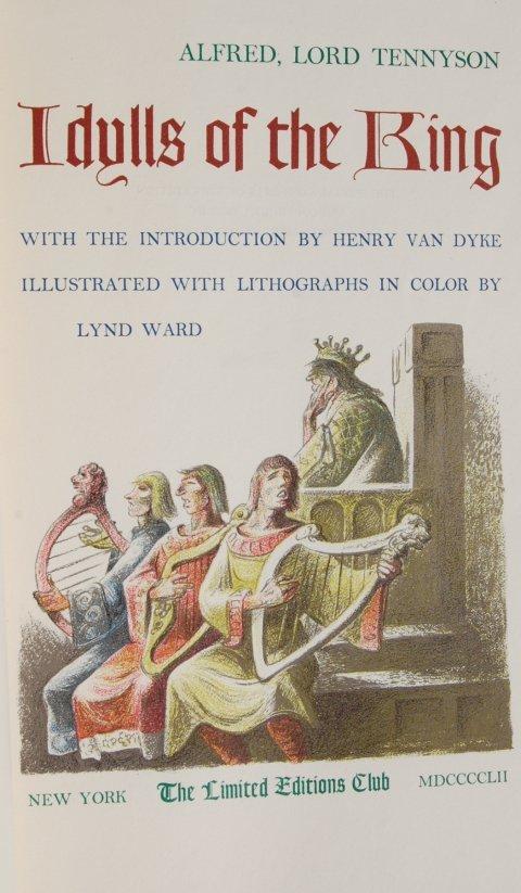 Tennyson. Idylls of the King. 1952 LEC