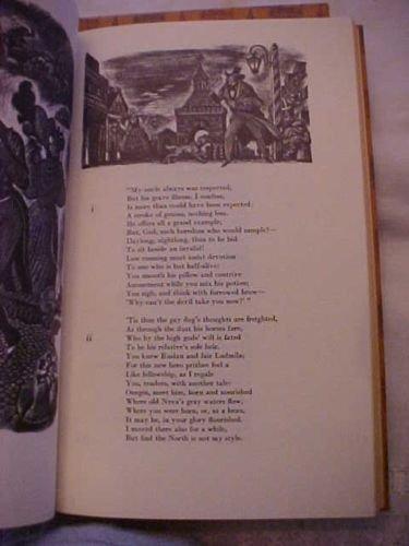 Pushkin. Eugene Onegin. 1943. Signed - 2
