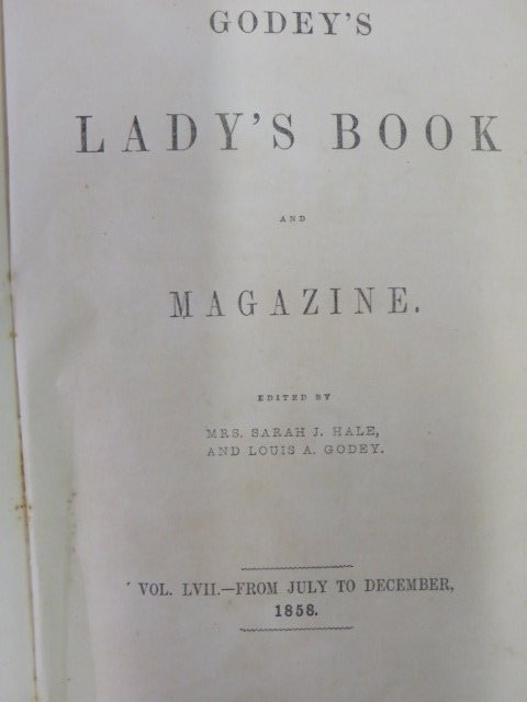 Godey's Lady's Book and Magazine. 1858