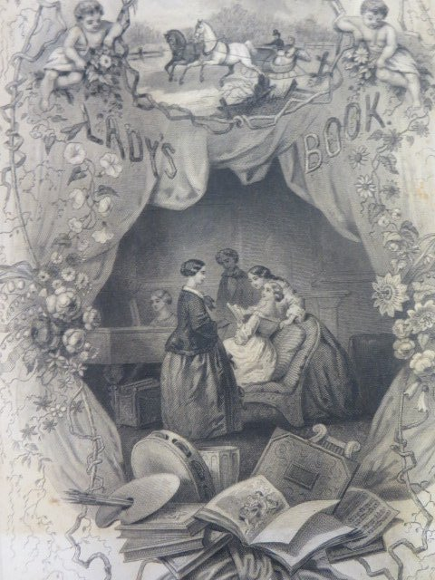 Godey's Lady's Book and Magazine. 1858 - 2