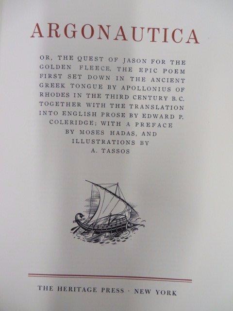 Argonautica. Heritage Press. 1960