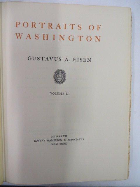 Eisen.  Portraits of Washington Vol II 1932