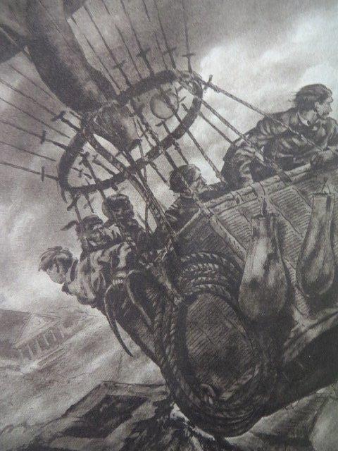 Verne. Jules. Mysterious Island. Illus.  Wilson