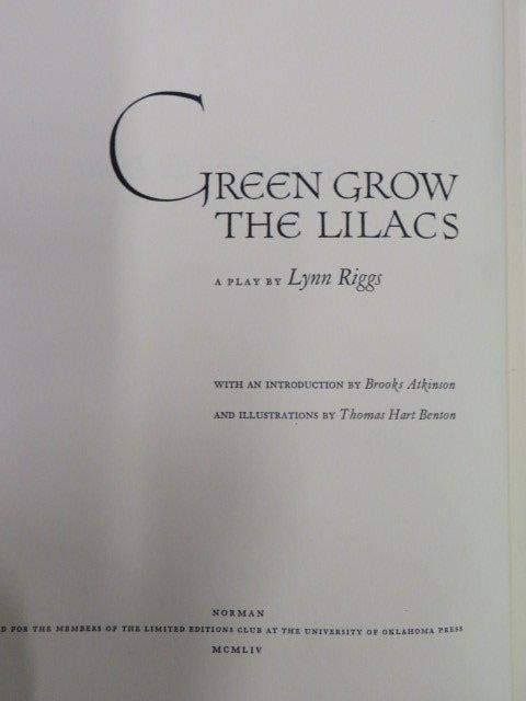 Green Grow The Lilacs.  1954.  Illus by Benton