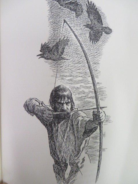 Esaiastegner. Frithiof's Saga. 1953. Illus. - 3