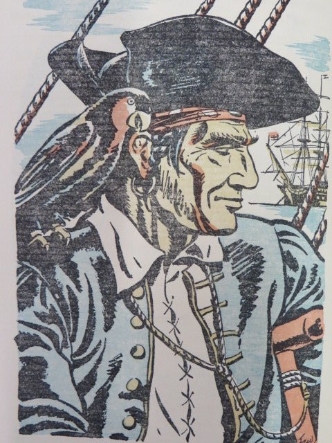 Treasure Island. 1941.  Illus. - 3