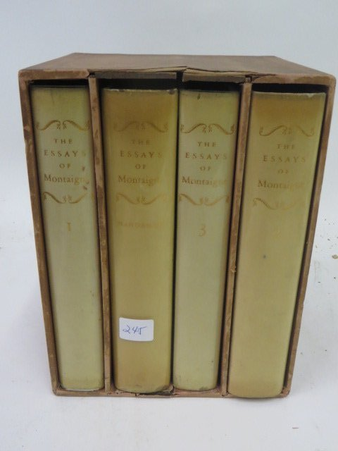 Essays  of Michel de Montaigne. 1946. - 2