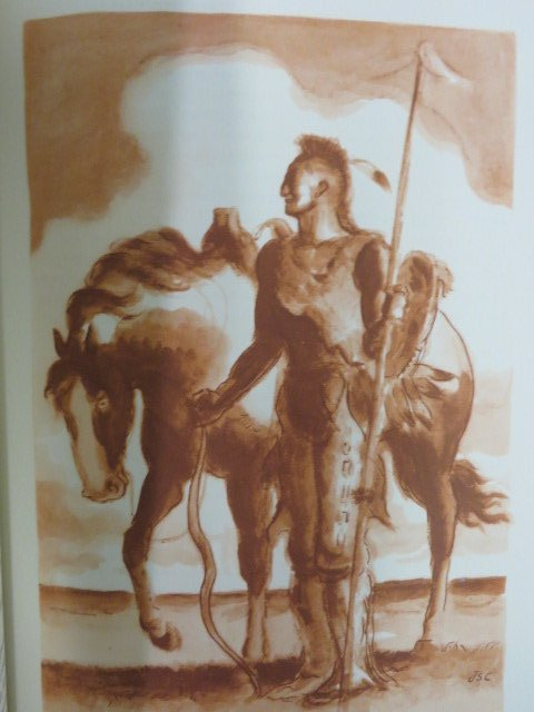 J.F. Cooper.  The Prairie.  Illus by Curry. 1940 - 3