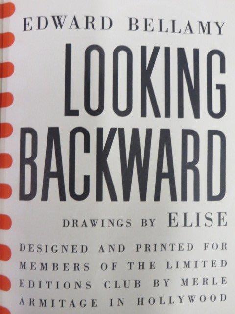 Bellamy.  Looking Backward. 1941.  Illus.