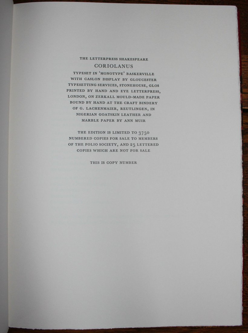 Shakespeare. Holland Paper Edition.Ltd.