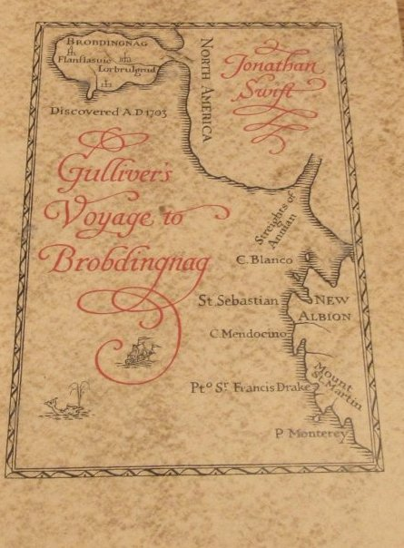 Voyage of Brobdingnag. LEC. 1950