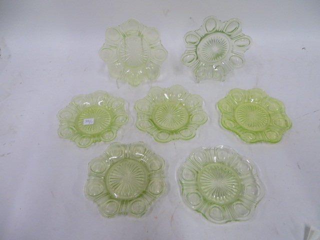 VaselineGlass Plates (6)