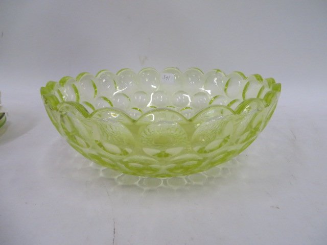 Vaseline Glass Bowl - 2