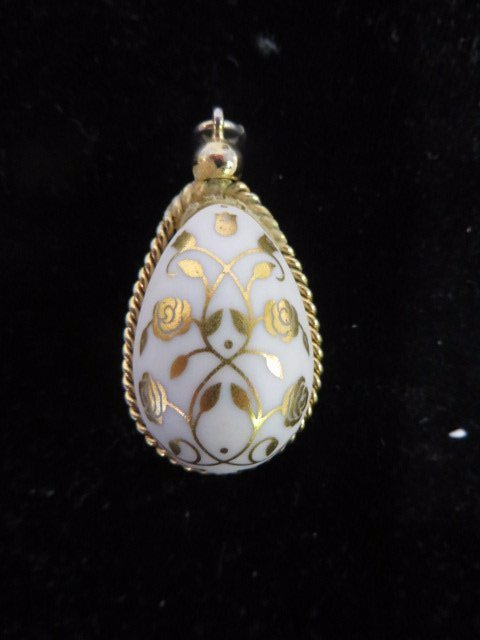 Russian Like Egg Pendant