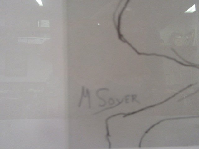 Moses Soyer. Pen and Ink. Signed - 3