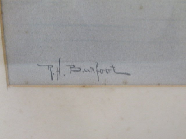 Richard H. Burfoot. Watercolor. Signed - 3