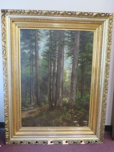 Richard H. Burfoot. Oil on Canvas. Signed