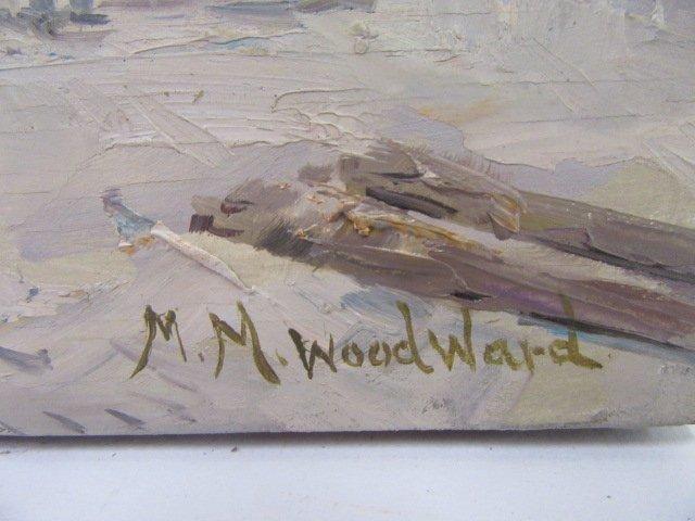 Mabel May Woodward. Oil. Beach Scene. Sgd. - 2