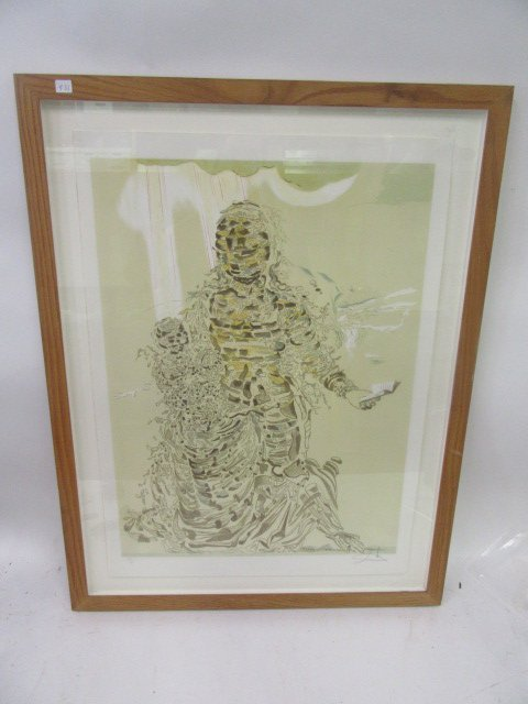 Salvadore Dali Etching. Limited Edition
