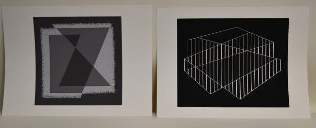 Joseph Albers. Twelve Screenprints. Pub. - 3