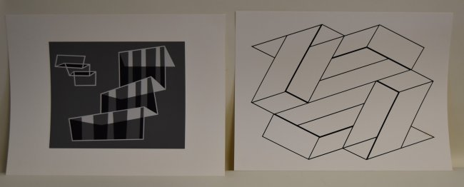 Joseph Albers. Twelve Screenprints. Pub. - 5