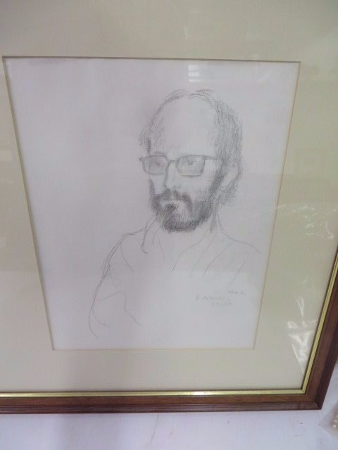 Raphael Soyer Drawings. From Sketch Book. Sgd. - 2