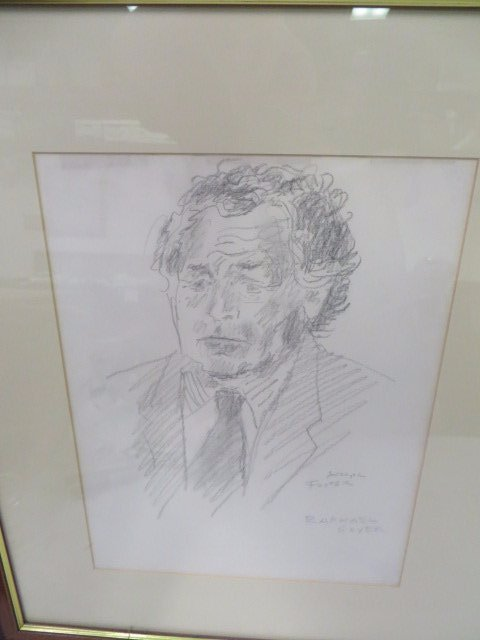 Raphael Soyer Drawings. From Sketch Book. Sgd. - 4
