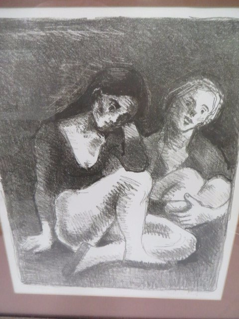 Moses Soyer. Artist Proof. Signed - 2