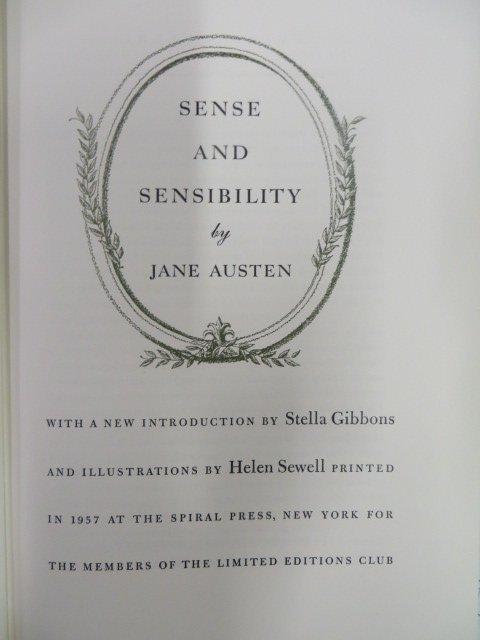 Austen Sense And Sensibility