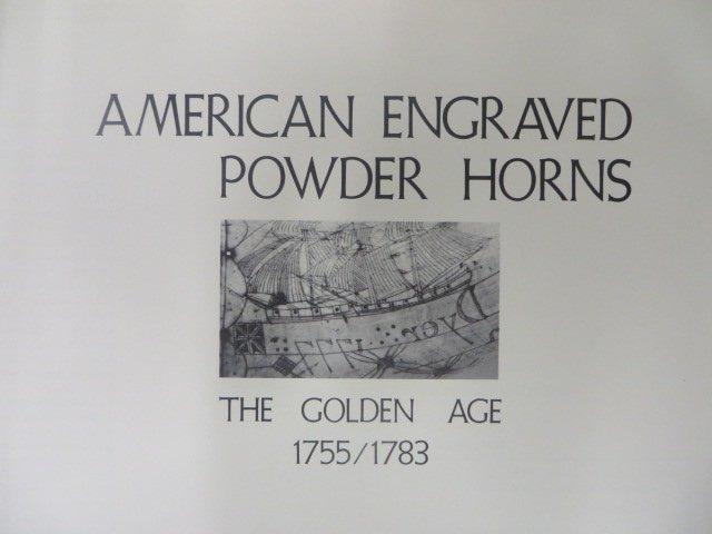 du Mont American Engraved Powderhorns
