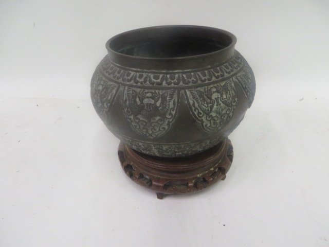 Antique Bronze Korean Vessel