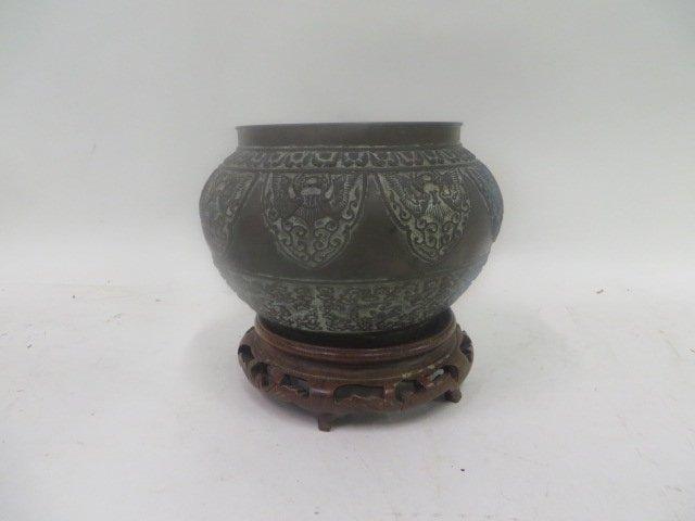 Antique Bronze Korean Vessel - 2