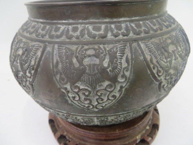 Antique Bronze Korean Vessel - 3